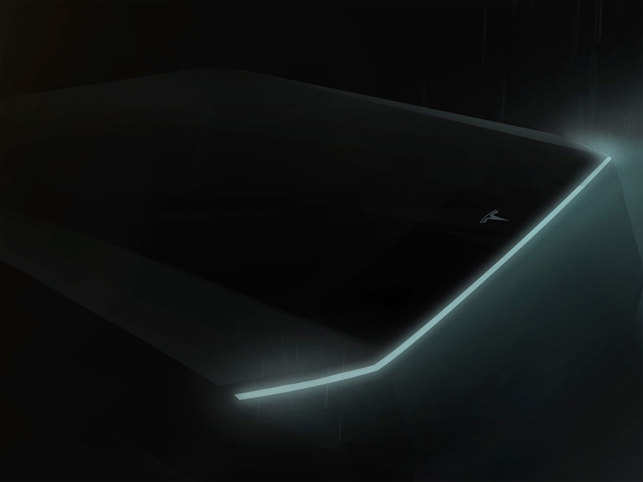 Elon Musk flashes teaser of Tesla cyberpunk truck inspired by Harrison Ford's 'Blade Runner'