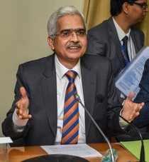 Mumbai: Reserve Bank of India (RBI) Governor Shaktikanta Das speaks during the b...