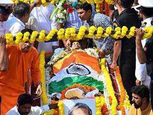 Goa: Manohar Parrikar cremated with full state honours in Panaji; thousands bid adieu