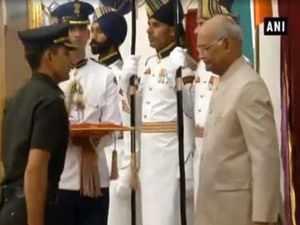 President Kovind presents Gallantry Awards, Distinguished Service Decorations