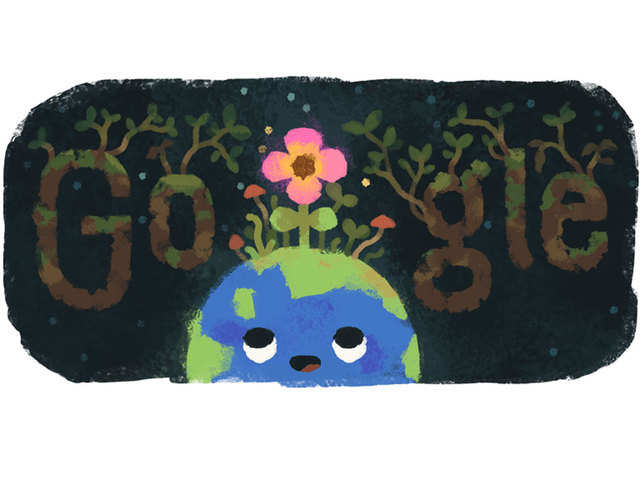 The world in bloom: Google celebrates Spring Equinox with a doodle