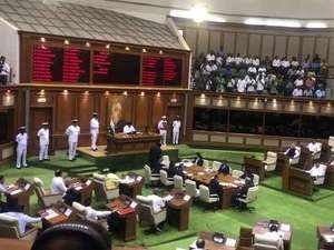 Goa CM Pramod Sawant wins floor test after 20 MLAs vote in his favour