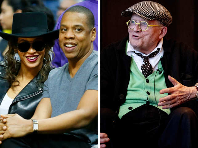 From David Hockney to Beyonce, Jay-Z & Solange: Famous people & their elevator adventures