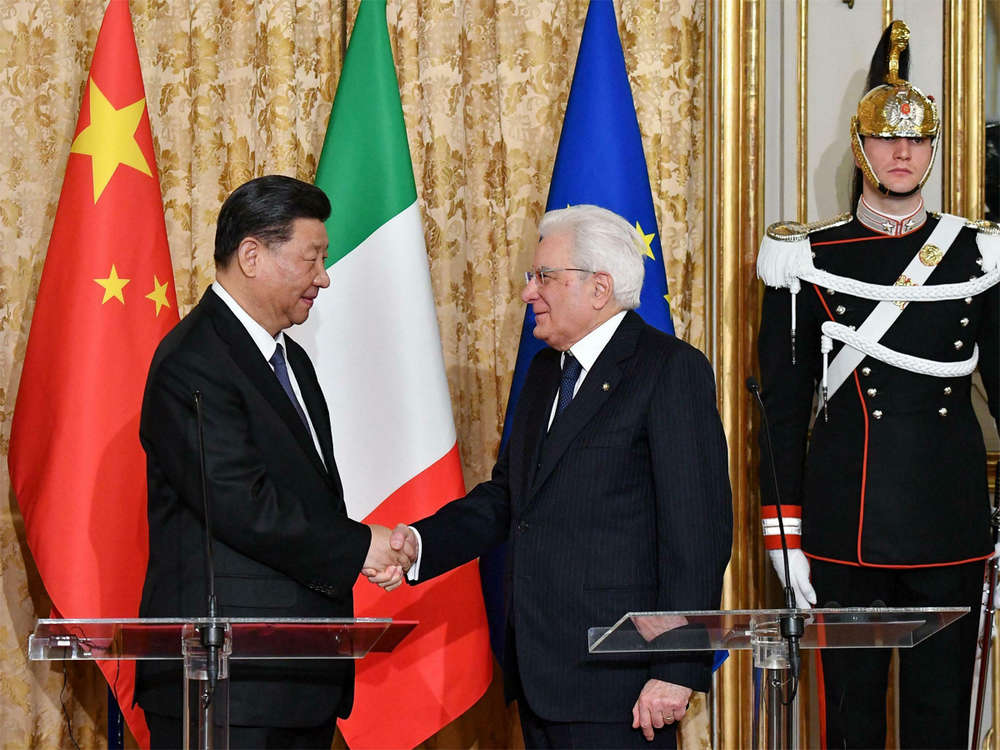 Italy moves to join China's Belt and Road coup for Beijing