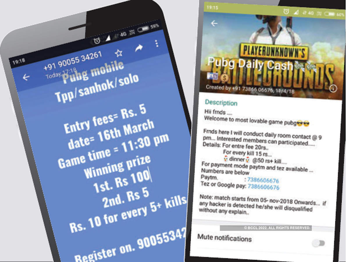PUBG gamers in India use skill to make money - The Economic Times