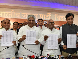 Carefully worked-out caste arithmetic in NDA's list of Lok Sabha candidates for Bihar