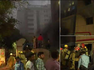Fire breaks out in operation theatre of AIIMS Trauma Centre in Delhi