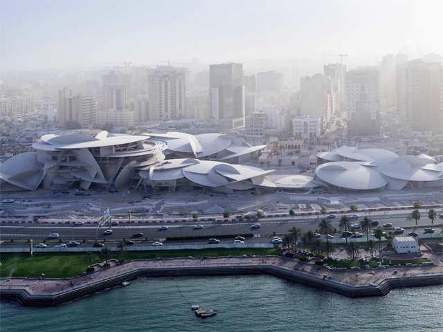 9d2fa8963e59 Qatar s  434 million desert rose museum finally blooms - Qatar s ...