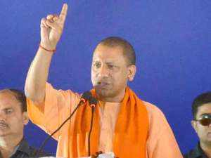 CM Yogi Adityanath terms oppn candidate 'Azhar Masood's son-in-law' at Saharanpur rally