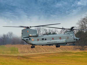 Indian Air Force inducts combat-ready Chinook helicopters