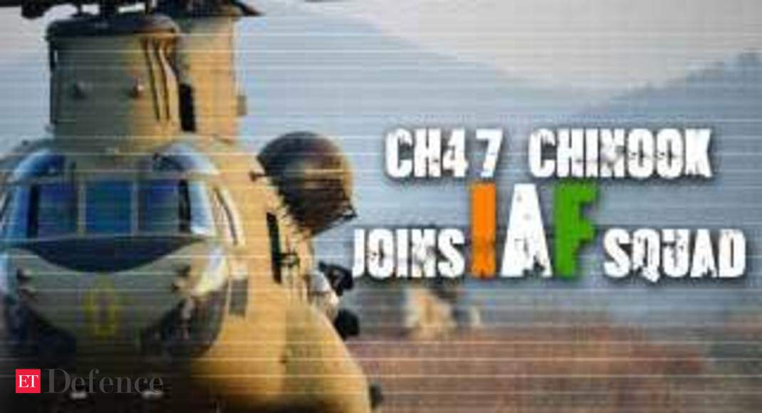 Watch: 4 Chinook CH47 helicopters inducted in IAF