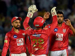 Kings XI Punjab beat Rajasthan Royals by 14 runs