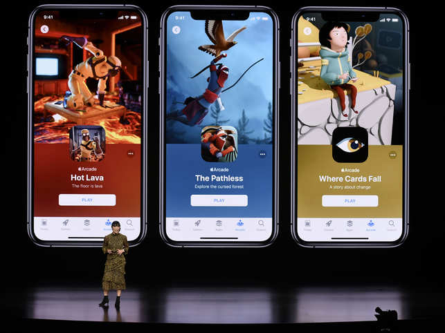 Apple launches first-ever game subscription service 'Arcade'