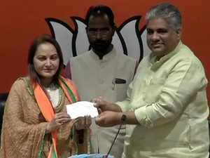2019 Lok Sabha Polls: Actor-turned-politician Jaya Prada joins BJP