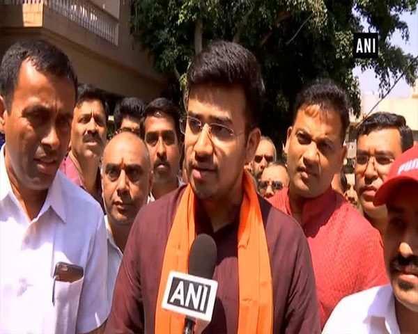 Tejaswini Ananth Kumar is like mother figure to me: BJP candidate Tejasvi  Surya
