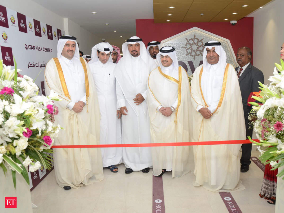 New Qatar Visa Center Qatar Opens Centre For Smooth Facilitation Of Visas For Indian Job Seekers The Economic Times