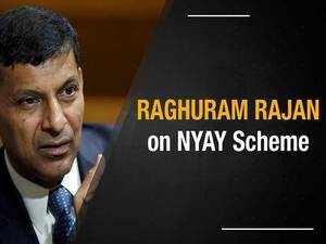 Raghuram Rajan on NYAY: Needed for economic inclusion