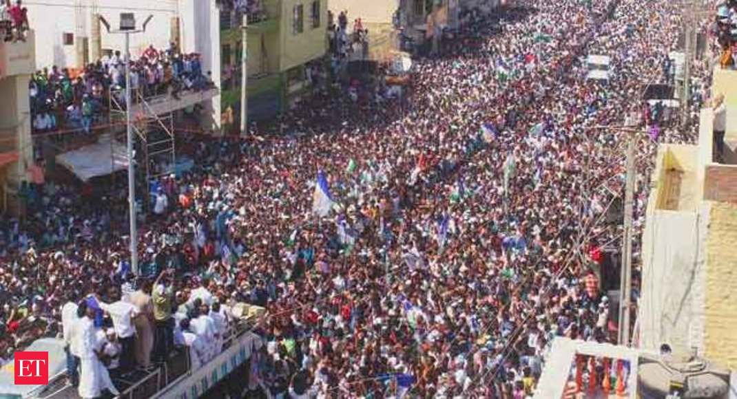 Woman killed, over 30 injured in wall collapse at YS Jaganmohan Reddy's  election rally