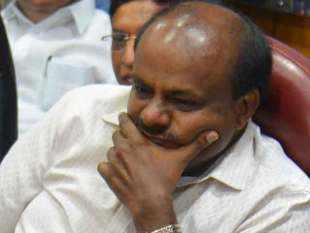 IT raids at K'taka minister's residence, Kumaraswamy calls it PM's 'real surgical strike'