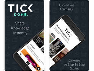 Tick review: App offers short tutorials in browsable story formats