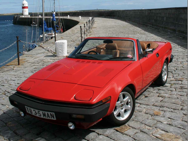 Your car can make you rich: Triumph TR8 is a better investment than a Jaguar