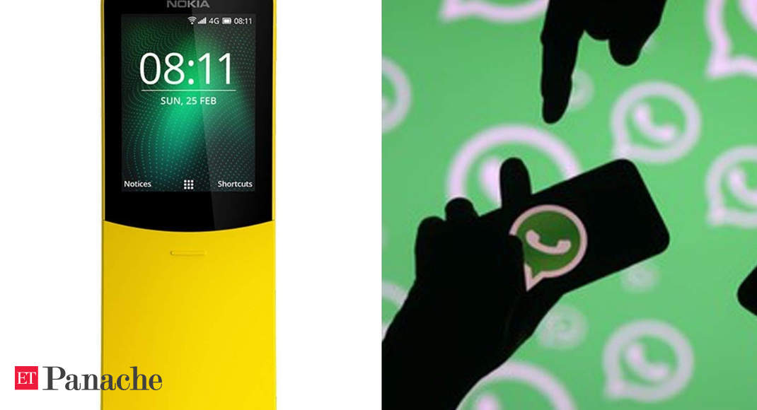 Good news for Nokia 8110 users: The Slider phone now