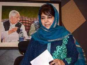 PDP chief Mehbooba Mufti filed her nomination from Anantnag