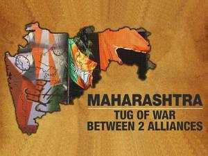 Maharashtra: Big battle between BJP-Shiv Sena and Cong-NCP