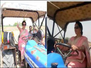 Hema Malini: After performing as a farm woman, BJP MP Hema Malini