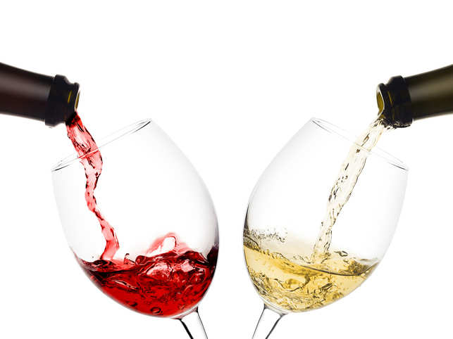 one glass