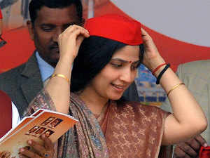 Dimple Yadav files nomination for Kannauj LS seat