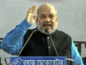Amit Shah holds roadshow in Ahmedabad, says 'entire Kashmir is ours'