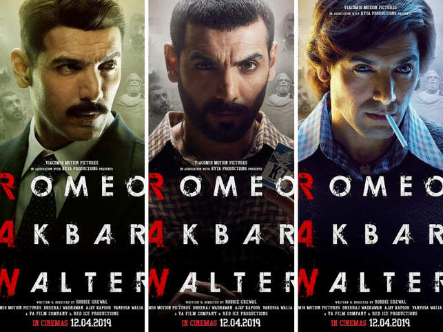 Romeo Akbar Walter' review: A half-baked, spy thriller - The ...