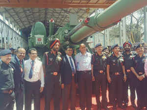 The artillery guns were handed over to the army at a formal function organised in GCF, Jabalpur.