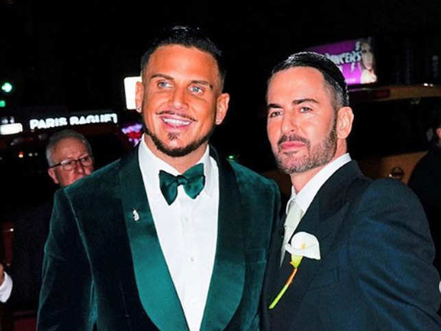 info for 1e693 96398 Hitched! Marc Jacobs ties the knot with Charly Defrancesco ...