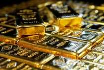Gold bars at the Austrian Gold and Silver Separating Plant 'Oegussa' in Vienna