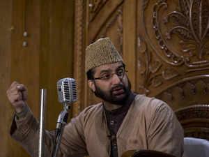 Terror funding case: Separatist leader Mirwaiz again appears before NIA