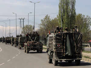 RSS leader shot, Army out in J&K town