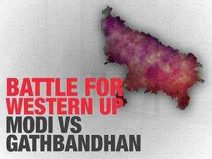 Battle for western UP: It's Modi vs Gathbandhan, Congress splitting votes