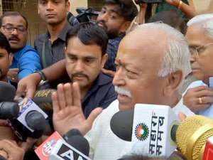 Mohan Bhagwat, Bhaiyyaji Joshi request citizens to cast vote