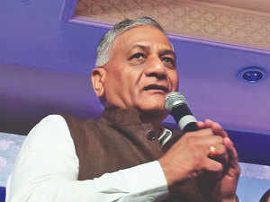 Grand alliance no threat for BJP in Ghaziabad: V.K. Singh