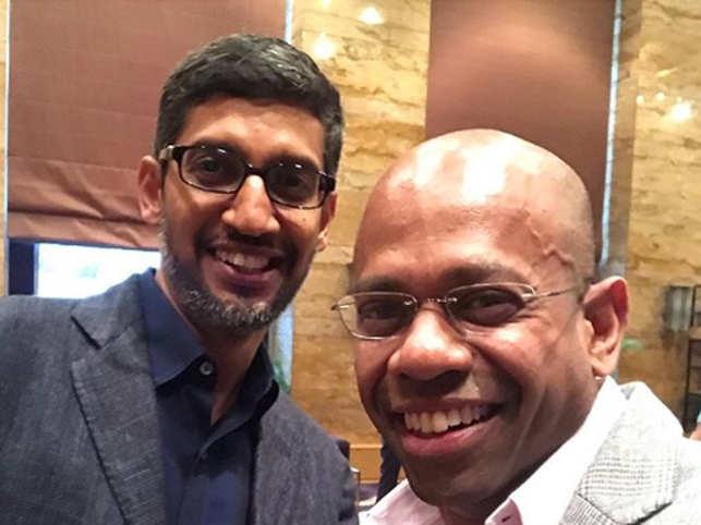 When Aditya Ghosh and Sundar Pichai bonded over breakfast