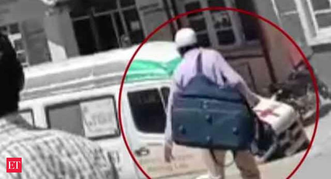 J-K: RSS leader murder suspect caught on camera while fleeing Kishtwar  hospital