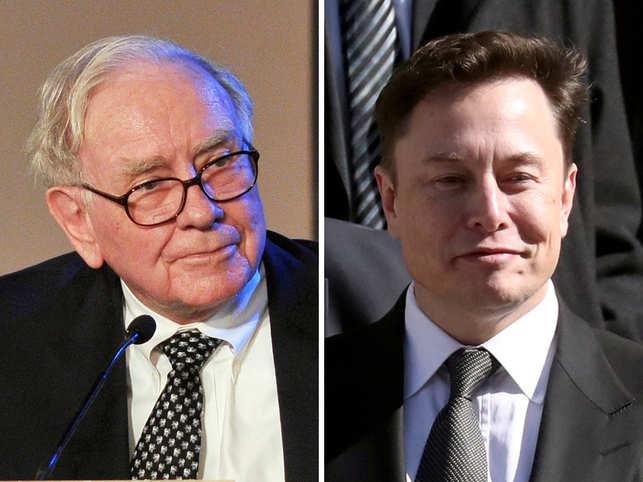 Warren Buffett's rooting for Elon Musk, says Tesla CEO has 'room for improvement'
