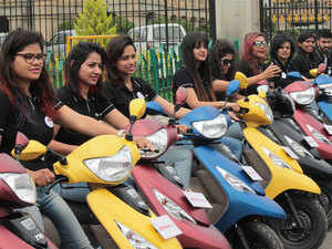 TVS, Suzuki, Piaggio gain scooter market share in FY19