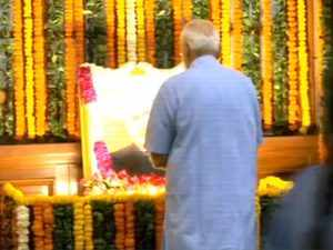 PM Narendra Modi pays tribute to BR Ambedkar on his Jayanti