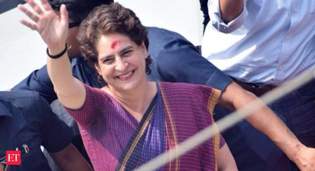 Lok Sabha Elections 2019: Priyanka Gandhi holds road show in Assam's Silchar