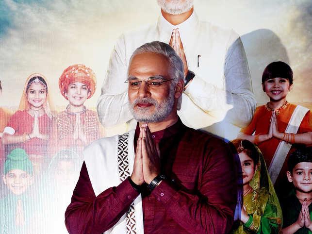 Vivek Oberoi as Narendra Modi in his biopic
