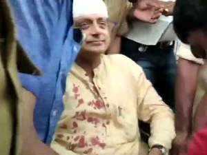 Kerala: Shashi Tharoor injured during prayer rituals at Trivandrum temple