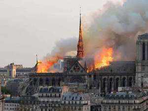 Watch: Notre Dame Cathedral suffers 'colossal damages'